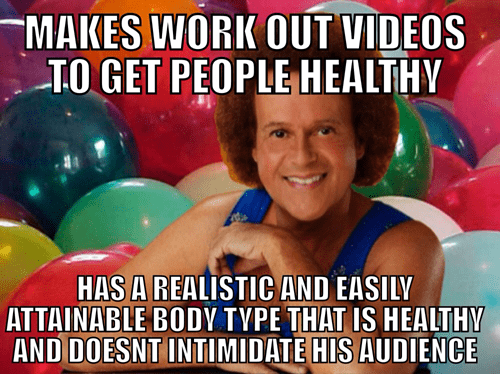 fitness,good guy,richard simmons