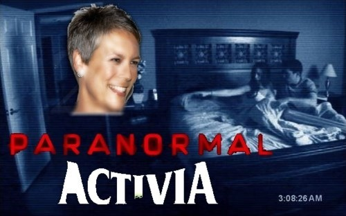 activia,paranormal activity,jamie lee curtis