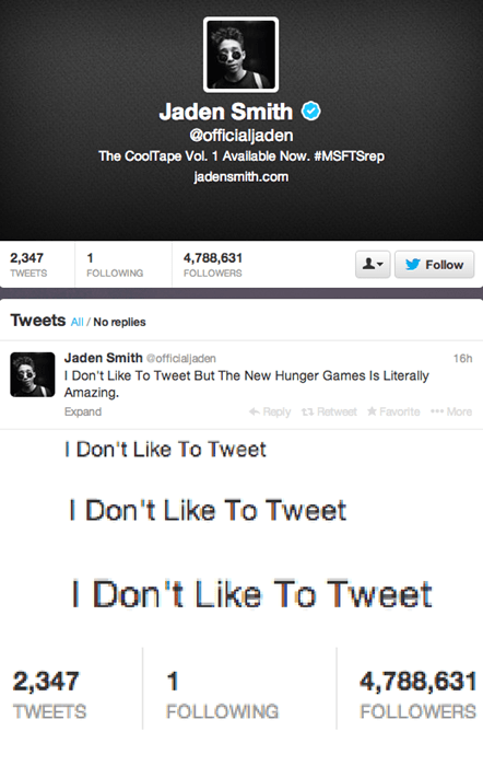 hunger games,twitter,jaden smith