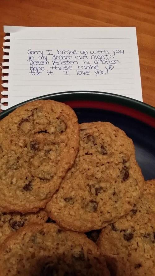 girlfriend cookies funny weird - 7908622848