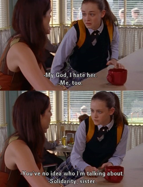 daughters Gilmore Girls moms parenting