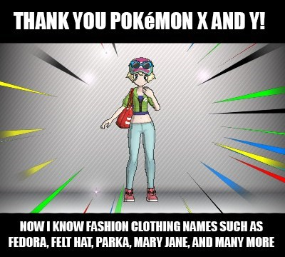 fashion,Pokémon,trainer customization,clothing