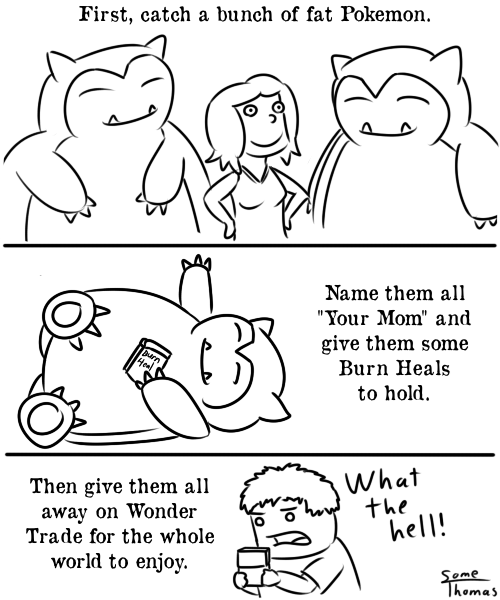Pokémon snorlax wonder trade - 7909405440