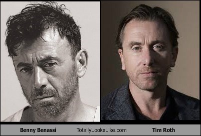 totally looks like,benny benassi,funny,tim roth