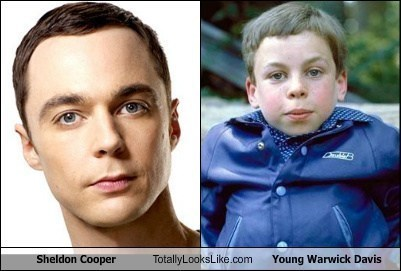 Sheldon Cooper totally looks like warwick davis funny - 7909509632