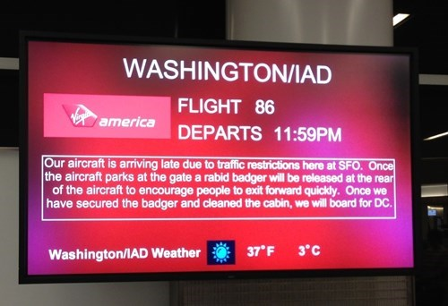 air travel airports flying planes virgin america - 7909721856