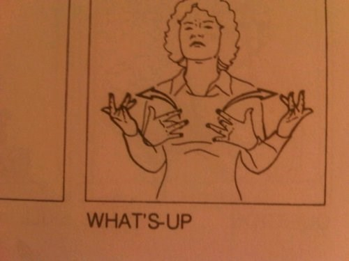 funny whats-up sign language - 7909723392