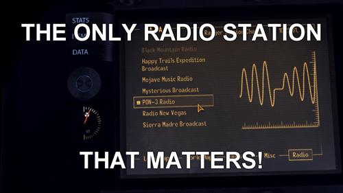 MLP fallout new vegas radio pon-3 - 7909839104