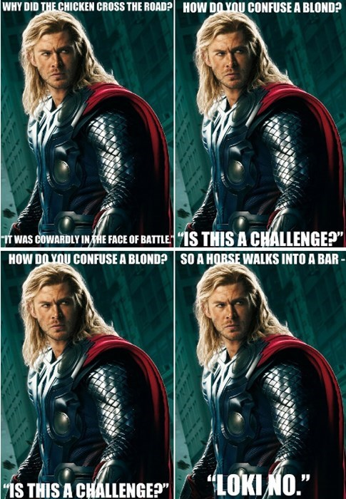 meme jokes Thor - 7909854976