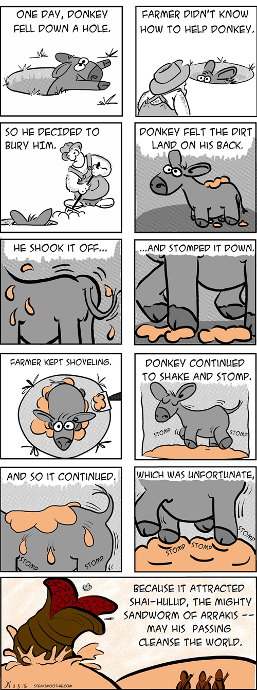 donkey unexpected web comics - 7909876992
