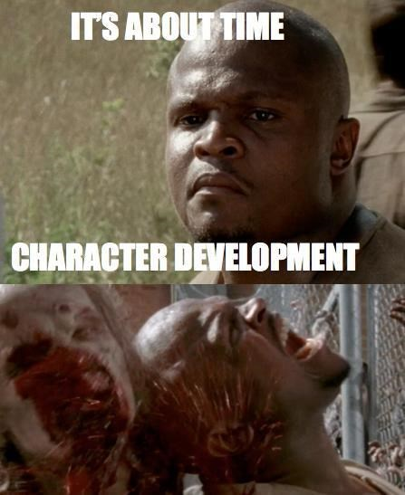 t dog,died,character development