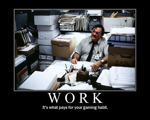 work Office Space video games funny - 7910207744