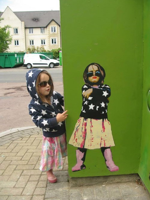 funny Street Art hacked irl - 7910218240