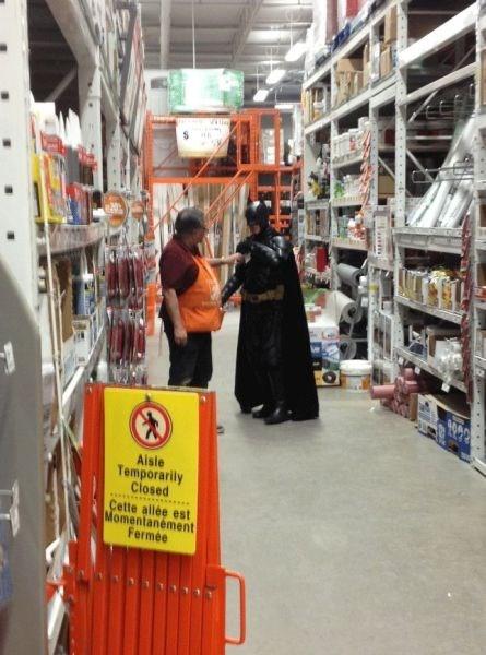 batman funny hardware store home depot - 7910224896