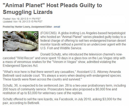 animal planet,funny,Probably bad News,news,smuggling