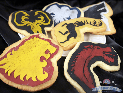 cookies Game of Thrones noms - 7910232576