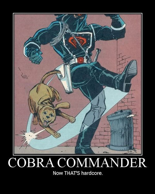 cobra cold GI Joe funny