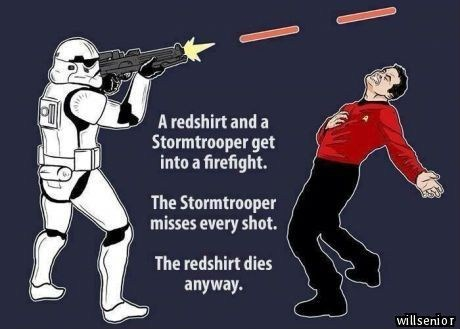 Star Trek star wars - 7910498816