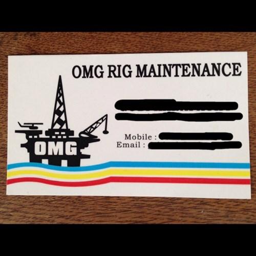 omg wtf omg rig maintenance rig maintenance - 7910814720