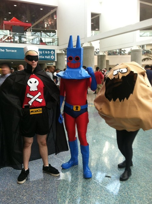 cosplay ManRay the Dirty Bubble barnacle man - 7911153152