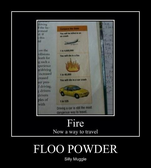 FLOO POWDER Silly Muggle
