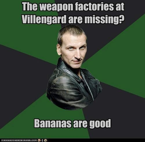 9th doctor bananas doctor who - 7912530432