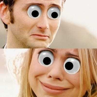 rose tyler doctor who googly eyes - 7912567296