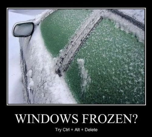 hammer,frozen,funny,windows,winter,ctrl alt del