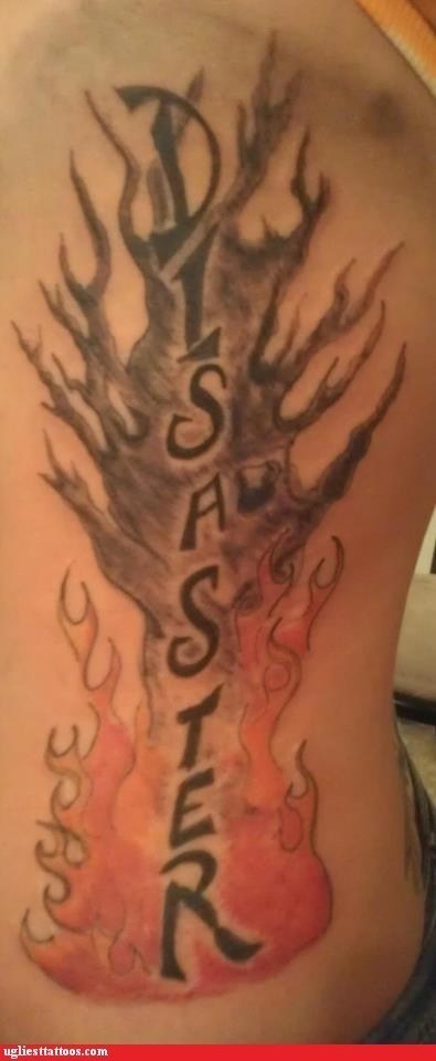 disaster tattoos funny - 7912915200