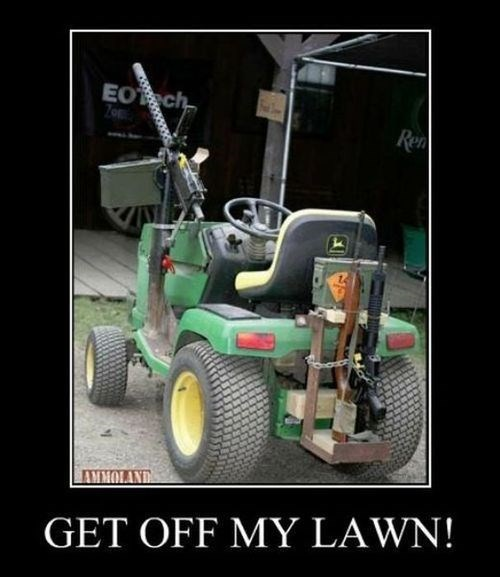 apocalypse cranky funny lawnmower