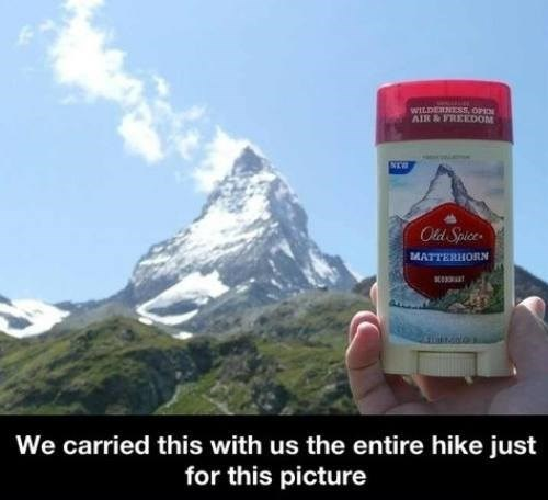 advertising deodorant mountains old spice - 7913048576