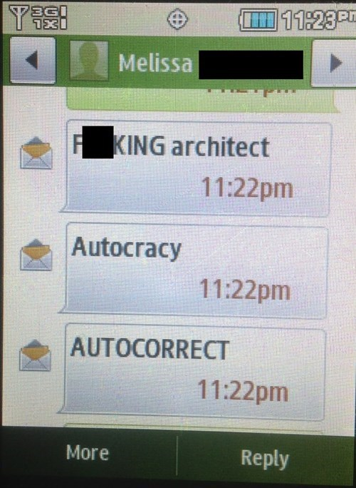 autocorrect text autocracy AutocoWrecks - 7913109760