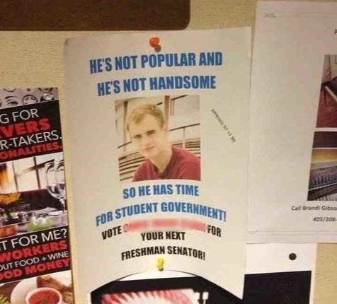 poster funny student government - 7913121792