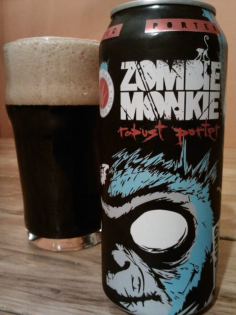 beer,awesome,funny,can of the week,zombie monkie