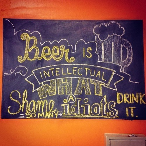 beer chalkboard funny sign wtf - 7913175808