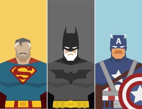 captain america batman Fan Art superman - 7913226240
