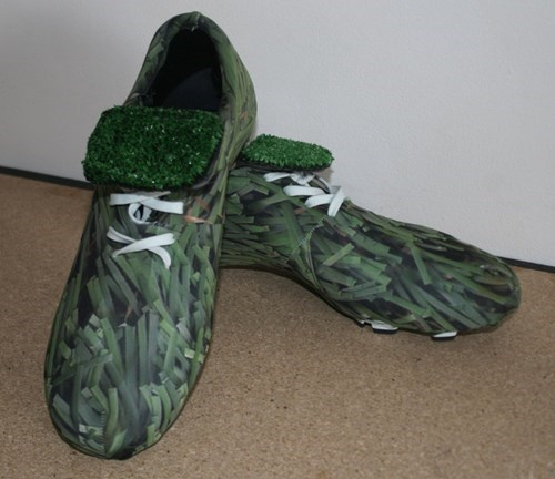 grass funny shoes wtf - 7913334784
