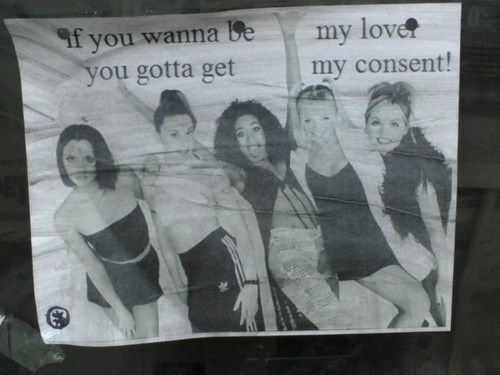 consent,funny,spice girls