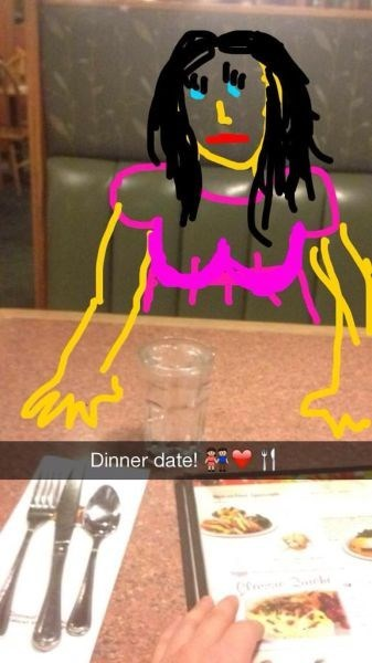 forever alone funny snapchat - 7913541120