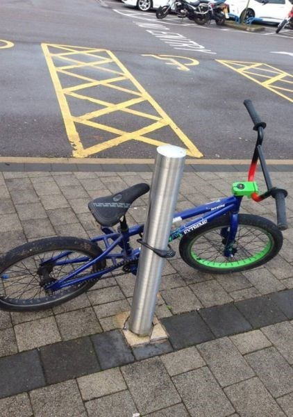 bike lock bikes genius facepalm funny - 7913545984