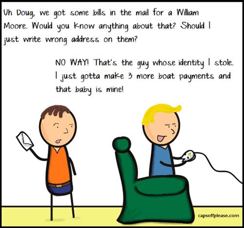 funny identity theft web comics - 7913576192