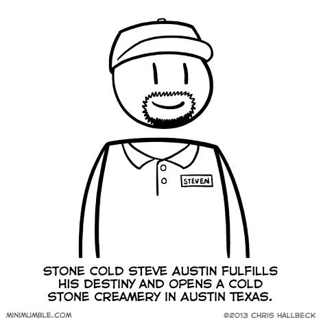 funny,ice cream,stone cold steve austin,web comics