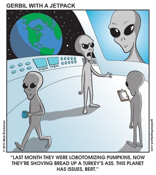 Aliens funny november web comics - 7913643520