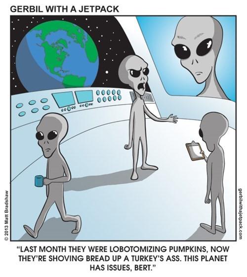 Aliens funny november web comics - 7913643520