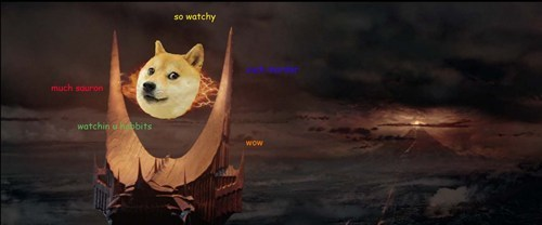 Lord of the Rings,sauron,doge