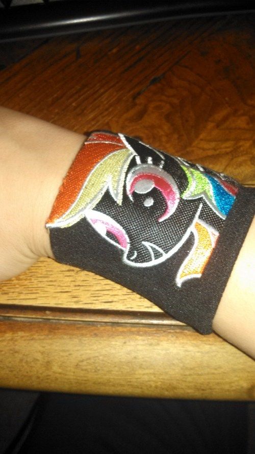 wristband 20-cooler rainbow dash - 7913766912