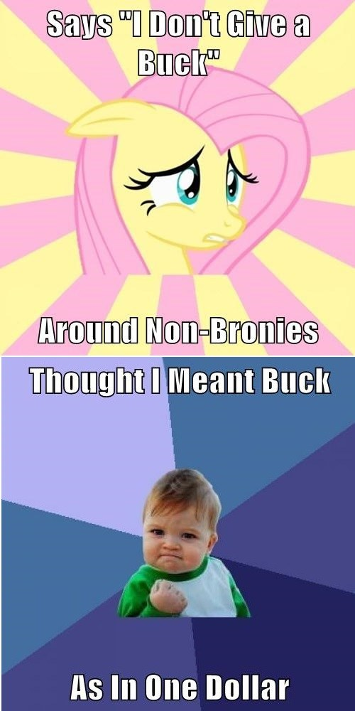 non brony success buck fluttershy - 7913963008