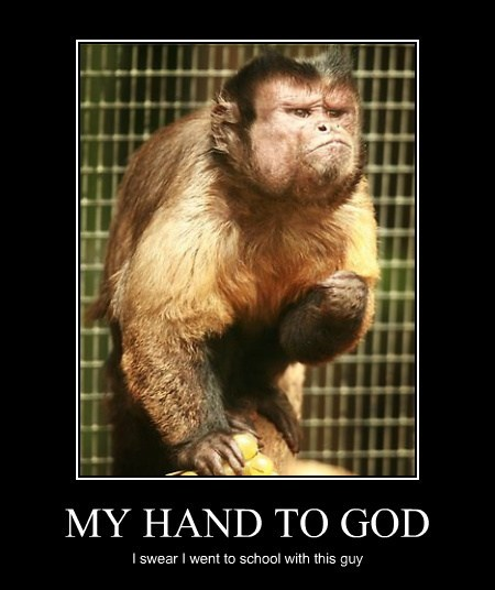 MY HAND TO GOD