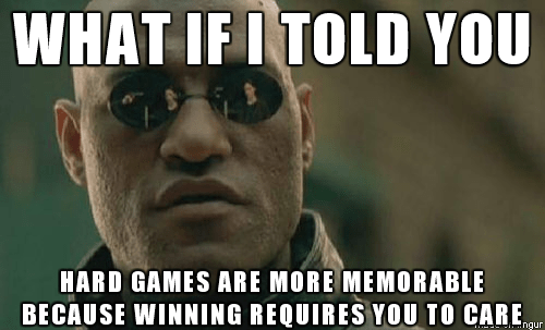 You Remember The Things You Care About