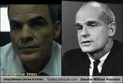 senators totally looks like doug stamper william proxmire - 7914875392